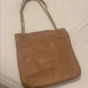 Brown leather Tory Burch purse!